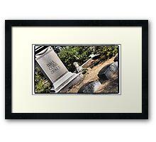 Lie Together Framed Print