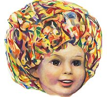 Lollipop Glump (Shirley Temple Portrait) by Karl Frey