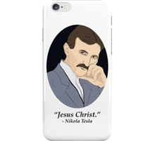 Tesla's Not As SFW Feelings iPhone Case/Skin