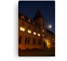 Museum of Natural History, by Night Canvas Print