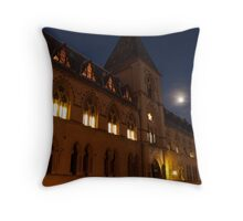 Museum of Natural History, by Night Throw Pillow