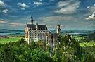 Neuschwanstein castle by JHRphotoART