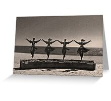 costa brava Greeting Card