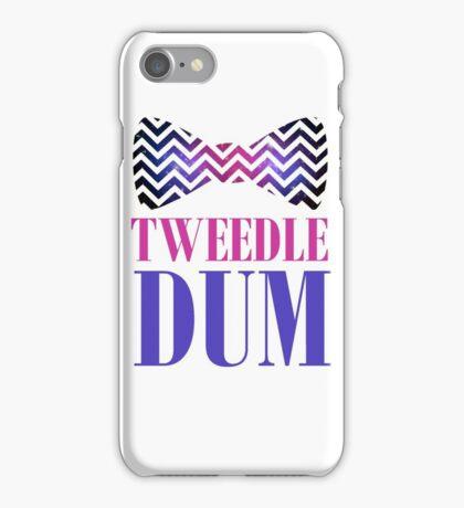 Tweedle Dum iPhone Case/Skin