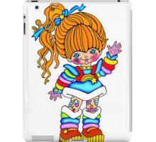 sugar rainbow brite iPad Case/Skin