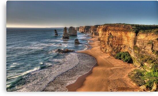 Grandeur - Great Ocean Road , Victoria Australia - The HDR Experience by Philip Johnson