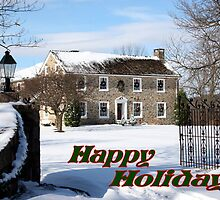 Home for the Holiday's card by DJ Florek