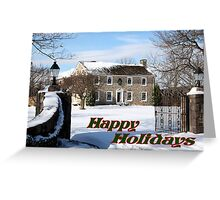 Home for the Holiday's card Greeting Card