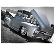 Ford F55 Pickup Custom truck Poster
