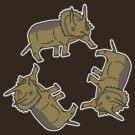 Triceratop Triskelion  by Auto Pilot