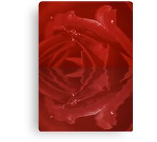 Ruby Red Reflections Canvas Print