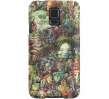 Faces Samsung Galaxy Case/Skin