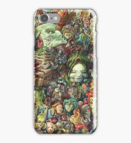 Faces iPhone Case/Skin