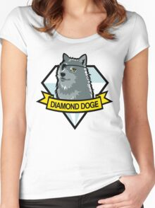 Diamond Doge Women's Fitted Scoop T-Shirt