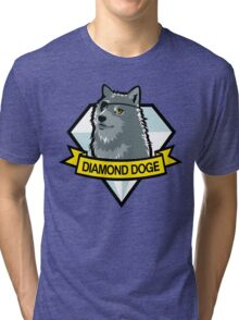 Diamond Doge Tri-blend T-Shirt