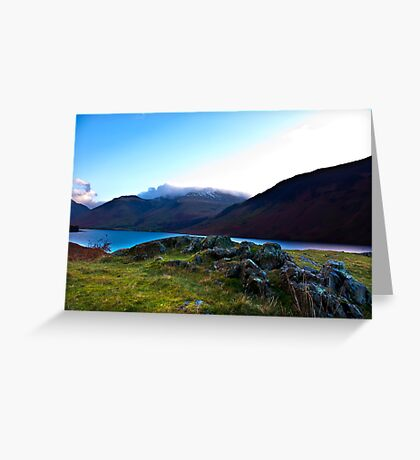 Scafell Pike - Across WastWater Greeting Card