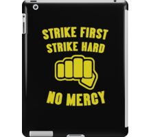 Cobra Kai Strike First Strike Hard iPad Case/Skin
