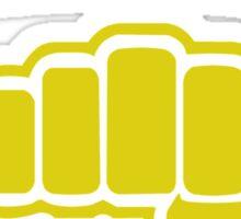 Cobra Kai Strike First Strike Hard Sticker