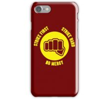 Cobra Kai No Mercy  iPhone Case/Skin