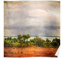 Raining on Arnhem Land Poster