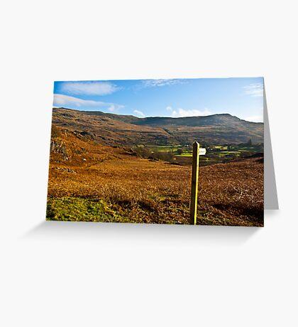 Duddon Valley - Lake District Greeting Card