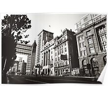 The Bund Architecture Poster
