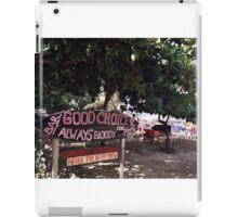 Good Choice Bar, Seminyak Beach Bali iPad Case/Skin
