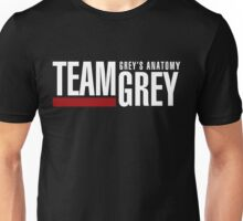 Grey's Anatomy- Team Grey Unisex T-Shirt