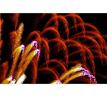 inside an 4th of july airburst Photographic Print