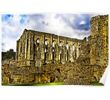 Rievaulx Abbey - North Yorkshire. Poster