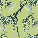 Giraffes by meoise