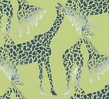 Giraffes by meoise
