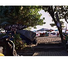 Playa Beach Bar Seminyak Bali Photographic Print