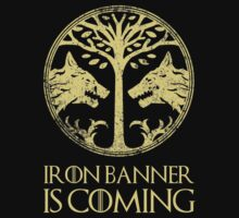 Iron Banner is coming, prepare Guardians! T-Shirt