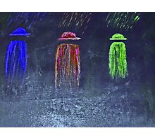 Ghost Ryders in the Rain Photographic Print