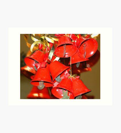 Christmas Bells Art Print