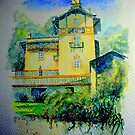 chalet do relogio, sintra.. by Almeida Coval
