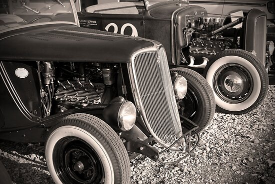 Flatheads and Whitewalls by dlhedberg