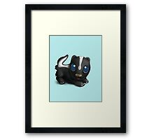 Little Skunk. Framed Print