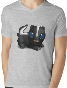Little Skunk. Mens V-Neck T-Shirt