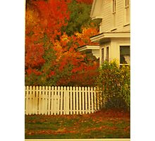 Robert Frost Home Photographic Print