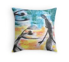 Midsummer dance. Throw Pillow