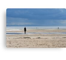 Another Place - Crosby Beach, UK Canvas Print