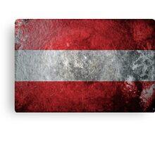 Austria Grunge Canvas Print