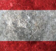 Austria Grunge Sticker