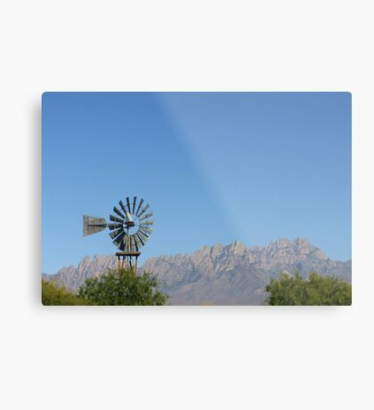 Organ Mountians Metal Print
