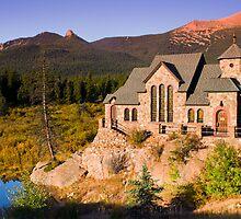 The Autumn Chapel by John  De Bord Photography