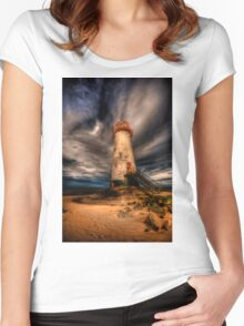 Abandoned Lighthouse Women's Fitted Scoop T-Shirt