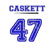 Caskett 47 Jersey Photographic Print