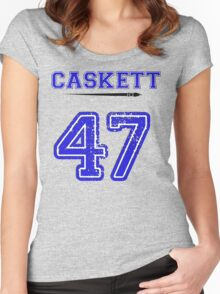Caskett 47 Jersey Women's Fitted Scoop T-Shirt
